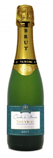 Charles de Villeneuve - Vouvray Brut - 37.5 cl