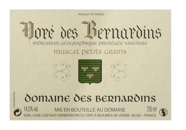 Doré des Bernardins label