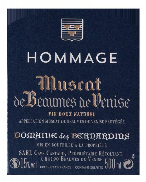 etiquette Hommage