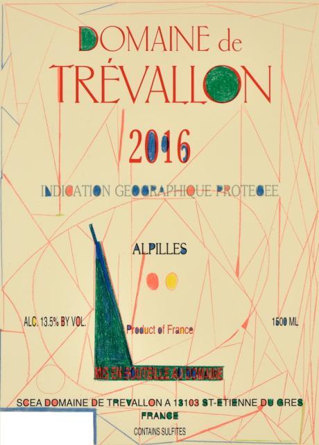 Domaine de Trévallon rouge 2016