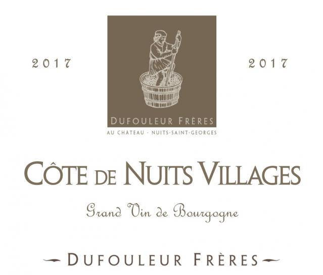 DF   Côte de Nuits Villages 2017