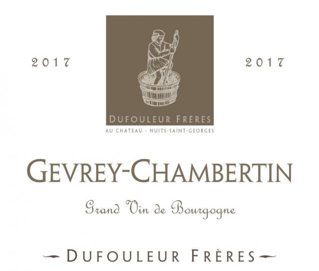 DF   Gevrey Chambertin 2017
