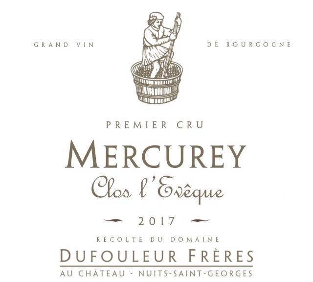 DF   Mercurey 1er Cru Clos l'Evêque 2017