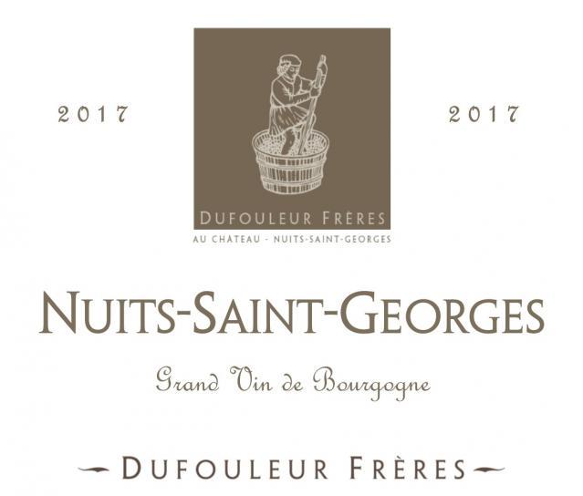 DF   Nuits Saint Georges 2017