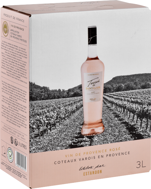 Terres de Saint Louis Rosé Bag-In-Box 3 litres