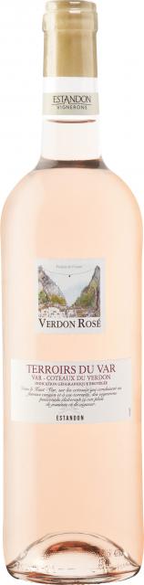 Terroirs du Var - Coteaux du Verdon Rosé 75cl