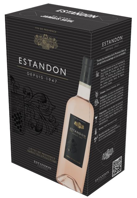 Estandon Rosé Bag In Box 2 Litres