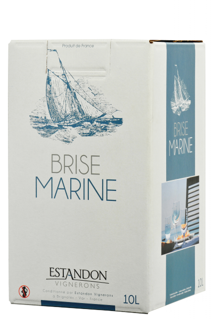 Brise Marine Bag In Box Blanc 10 Litres