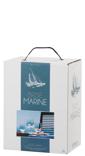 Brise Marine Bag In Box Blanc 5 Litres