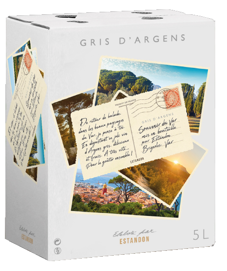 Gris d'Argens Bag In Box 5 Litres