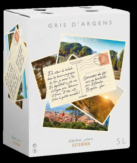 Gris d'Argens Bag In Box 5 Litres