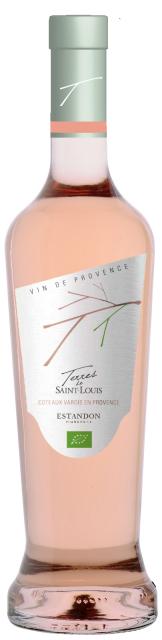 Terres de Saint Louis, AOP Coteaux varois en Provence,Rosé, 75cl VIN BIOLOGIQUE