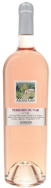 Gris d'Argens, Vin de Pays Var, Rosé,