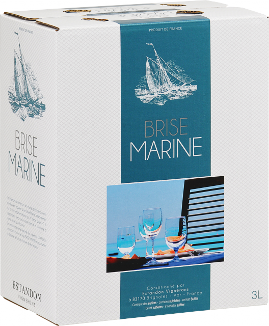 Brise Marine Bag-In-Box rosé 3 Litres