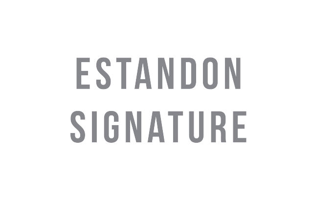 Logo Estandon Signature