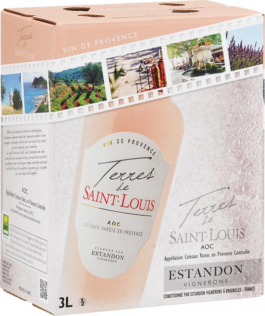 Terres de Saint Louis Rosé Bag-In-Box 3 litres