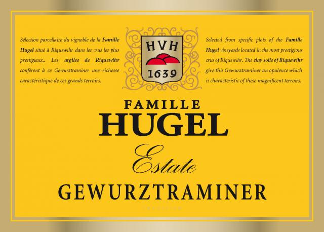Hugel Estate Gewurztraminer Etiquette