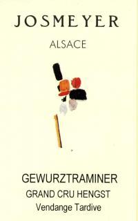 GEWURZTRAMINER Grand Cru HENGST - Vendange Tardive 2001