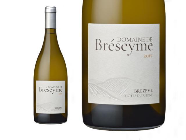 Domaine de Bréseyme, Bréseyme, Brezeme Côtes du Rhône, Blanc, 2018