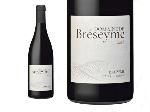 Domaine de Bréseyme, Brezeme Côtes du Rhône, Rouge, 2017