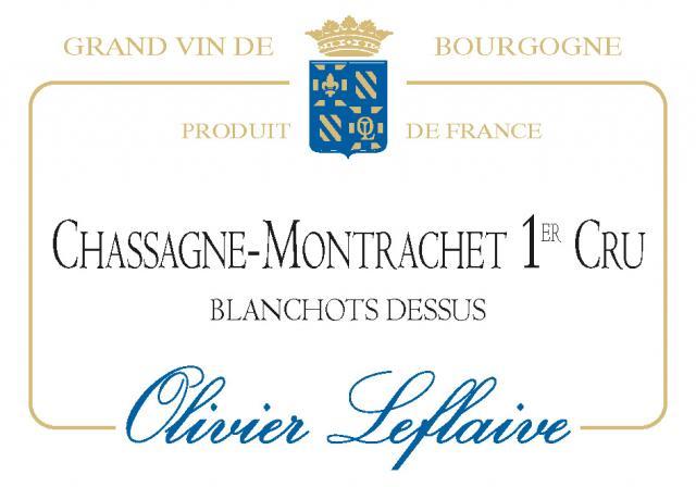CHASSAGNE-MONTRACHET 1er Cru Blanchots 2020