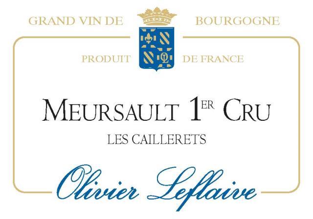 Meursault 1er Cru Caillerets 2019