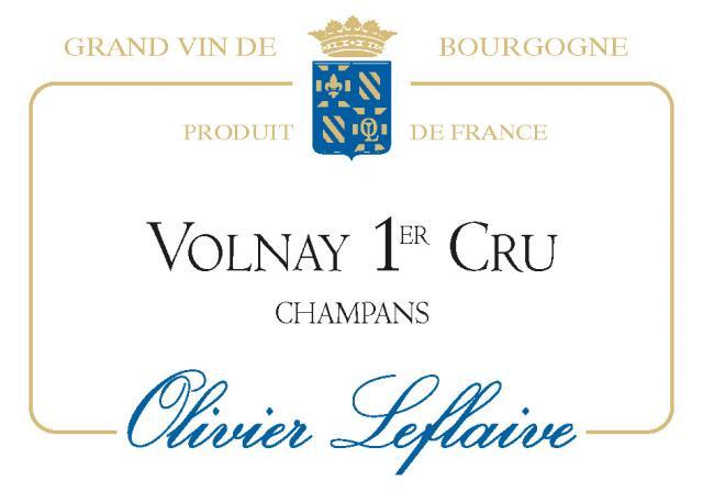 VOLNAY 1er Cru Champans 2019