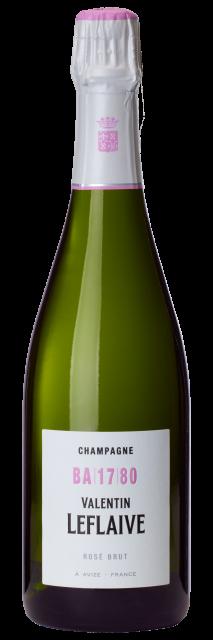 Champagne Valentin Leflaive Rosé BA 17 80 Brut