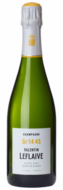 Champagne Valentin Leflaive Blanc de Blancs GR 14 45 Extra Brut