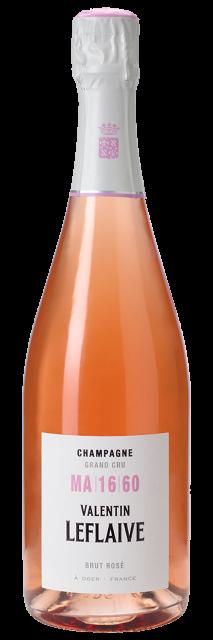 Champagne Valentin Leflaive Rosé Grand Cru MA 16 60 Brut