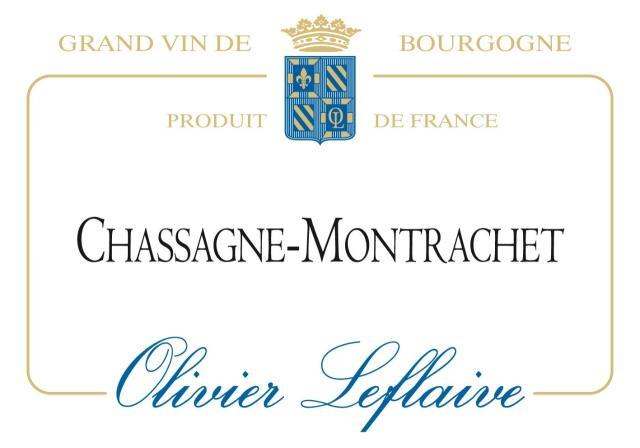 Chassagne montrachet 2014 aoc chassagne montrachet ro - La table d olivier leflaive puligny montrachet ...