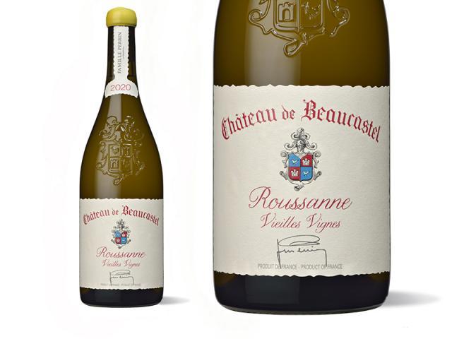 Château de Beaucastel Roussannes Vieilles Vignes 2020