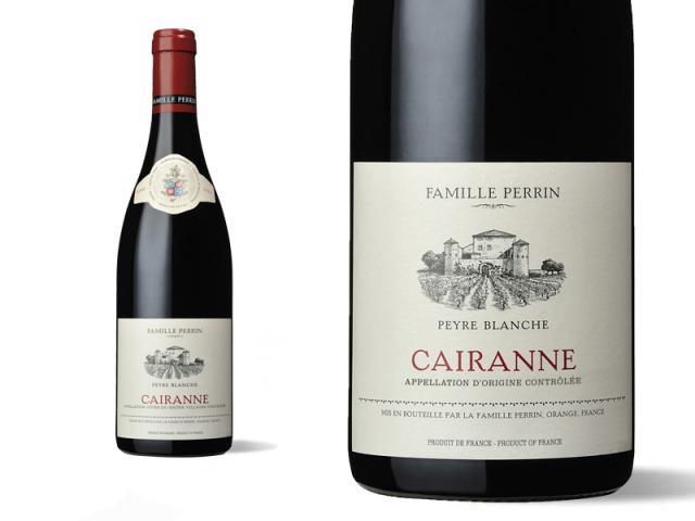 Famille Perrin Côtes du Rhône Villages Cairanne - Peyre Blanche 2019