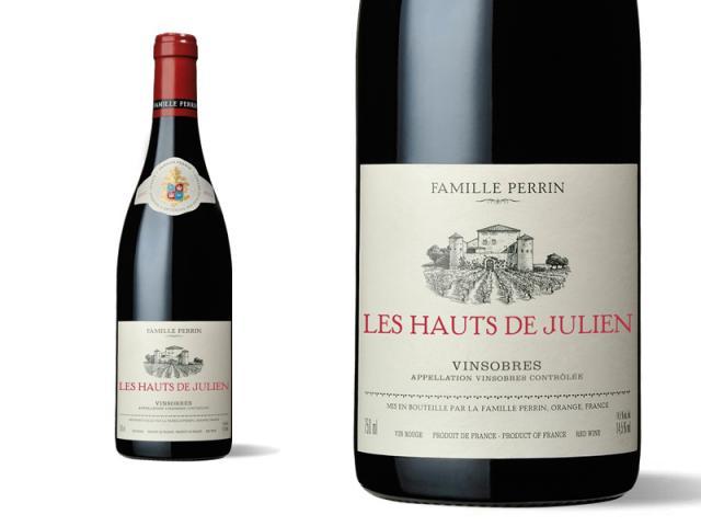 Famille Perrin Sélections Parcellaires Vinsobres - Les Hauts Julien Vieilles Vignes - 2014