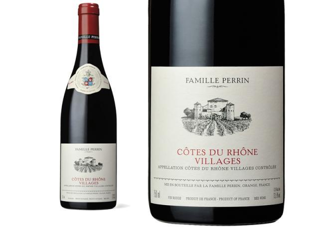 Famille Perrin Côtes-du-Rhône Villages Rouge - 2018