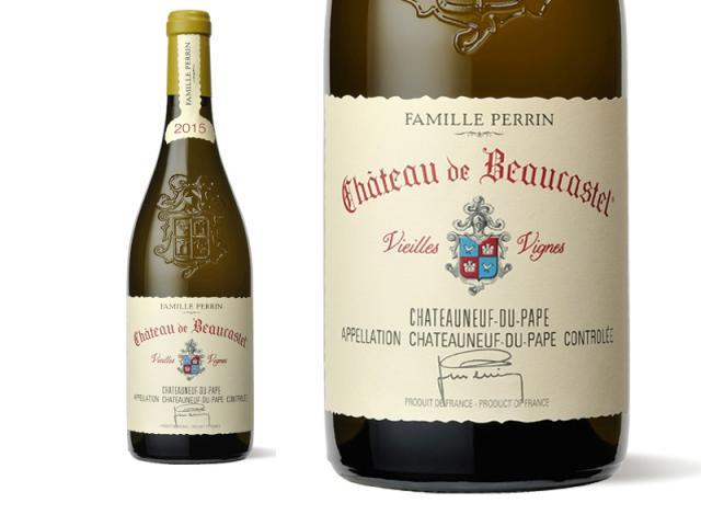 Château de Beaucastel Châteauneuf-du-Pape Blanc Roussanne Vieilles Vignes 2015