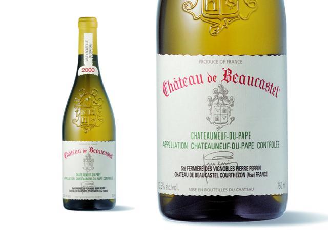 Beaucastel Blanc 2000 Macro