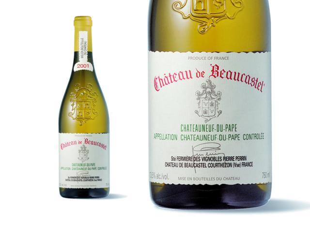 Beaucastel Blanc 2001 Macro