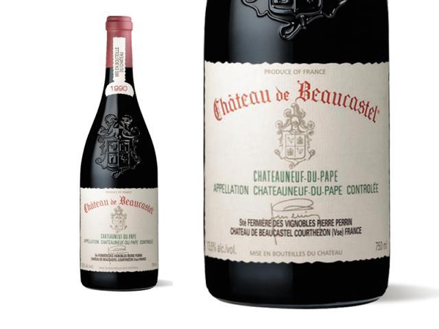 Beaucastel Rouge 1990 Macro