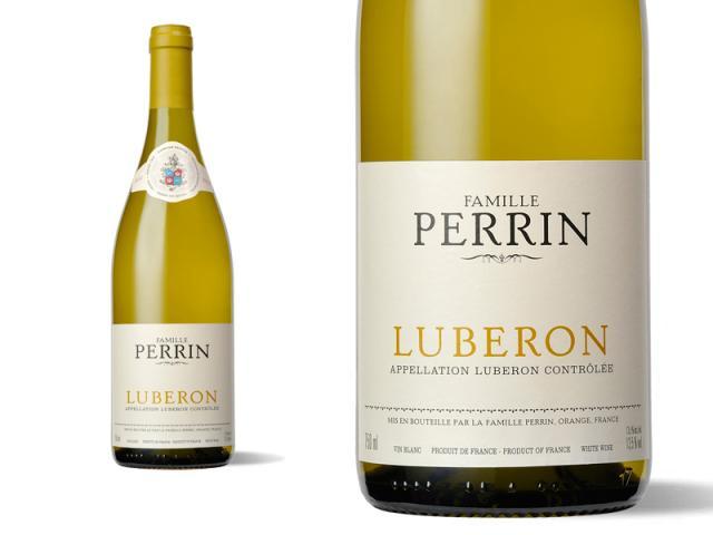 Bouteille et Etiquette Perrin Luberon 2011