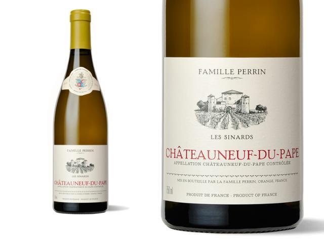 Bouteille et Etiquette Sinards Blanc 2011