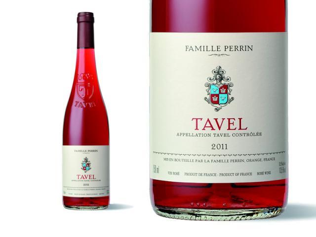 Bouteille et Etiquette Tavel 2011