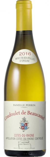 Château de Beaucastel Côtes du Rhône Coudoulet Blanc 2016 AOC Côtes du Rhône