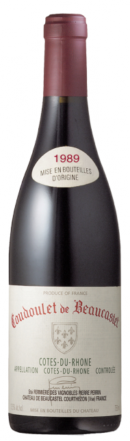 Coudoulet Rouge 1989