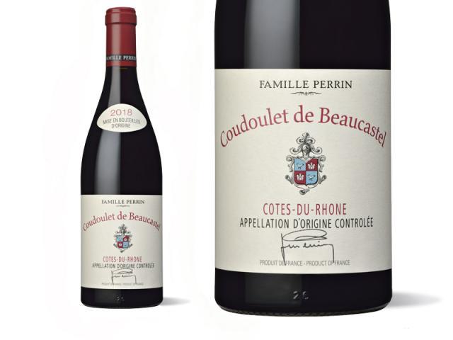 Château de Beaucastel Côtes du Rhône Coudoulet Rouge 2018