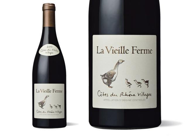 La Vieille Ferme Côtes du Rhône Villages Rouge 2015