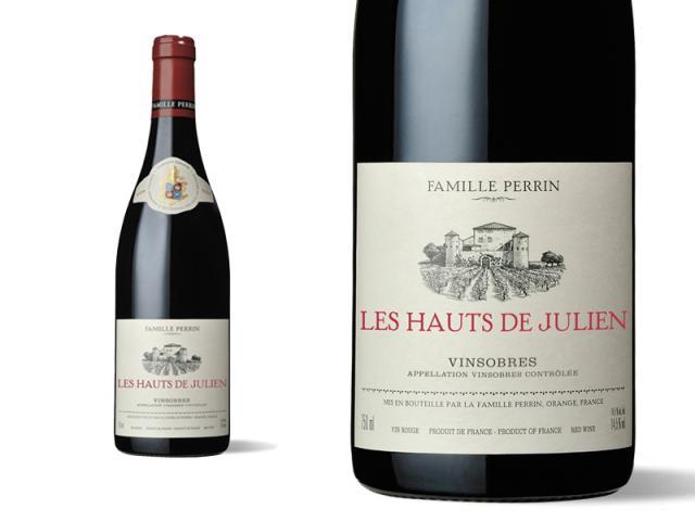 Famille Perrin Sélections Parcellaires Vinsobres - Les Hauts Julien Vieilles Vignes - 2016