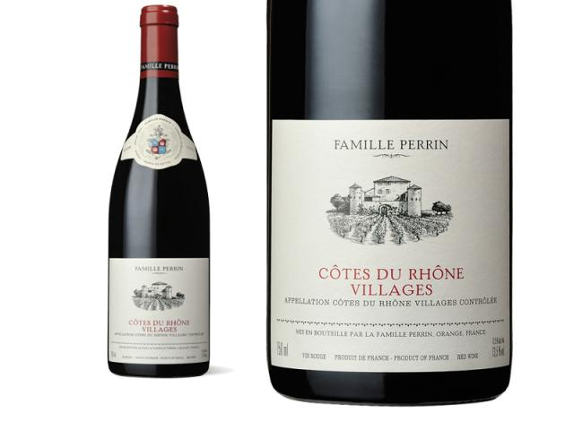 Famille Perrin Côtes du Rhône Villages Rouge - 2016