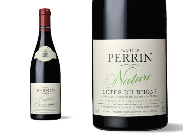 Famille Perrin Nature Côtes du Rhône Rouge - 2015