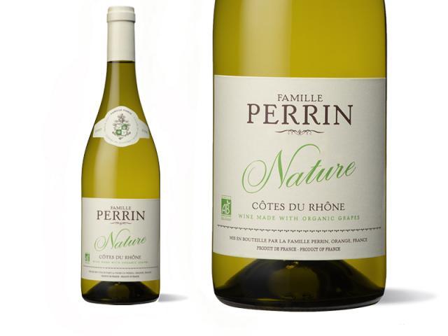 Famille Perrin Nature Côtes du Rhône Blanc - 2020